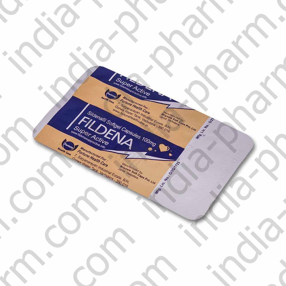 Fildena 100 mg (Філд 100 мг) Віагра, фото 2